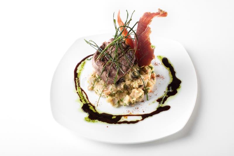 Parte do gourmet de carne fotos de stock royalty free