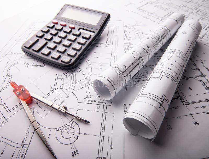 Download Parte Do Projeto Arquitectónico Imagem de Stock - Imagem de dimensões, carta: 29837055