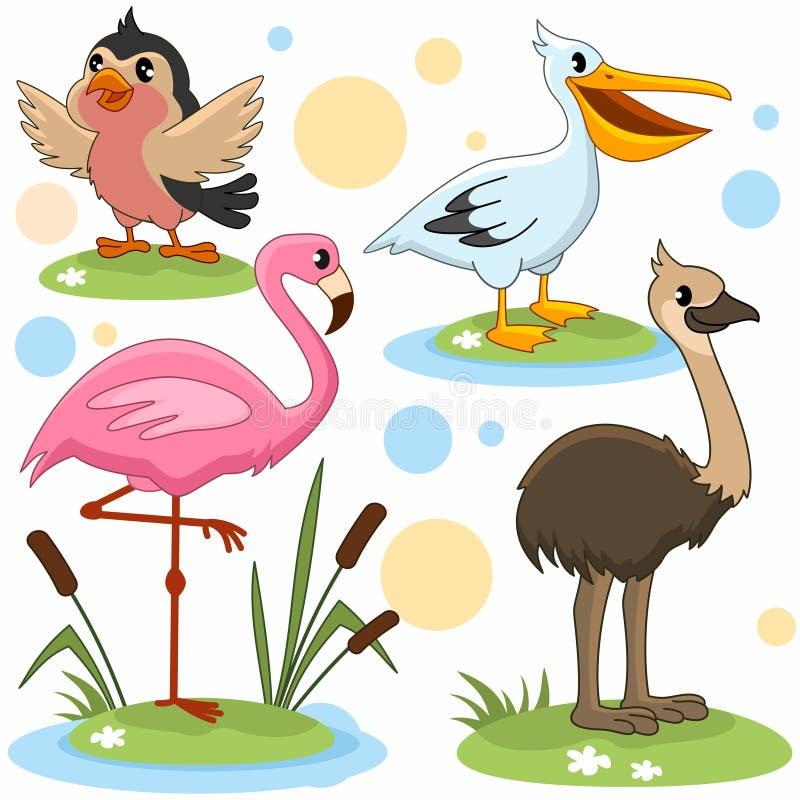 Parte 15 dos animais ilustração do vetor
