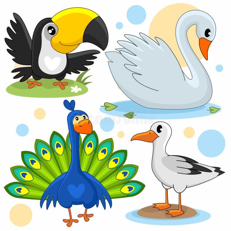 Parte 17 dos animais ilustração do vetor