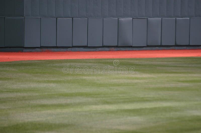 Parte exterior do campo do basebol foto de stock