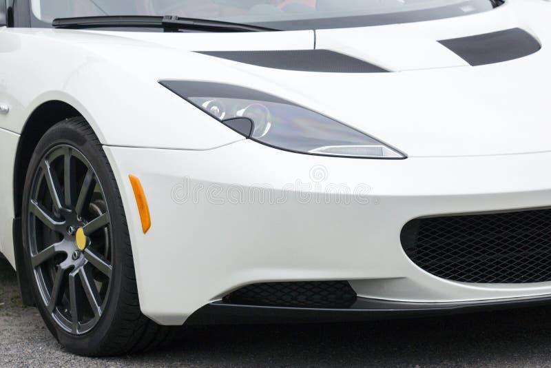 Parte frontal exótica do carro fotos de stock royalty free