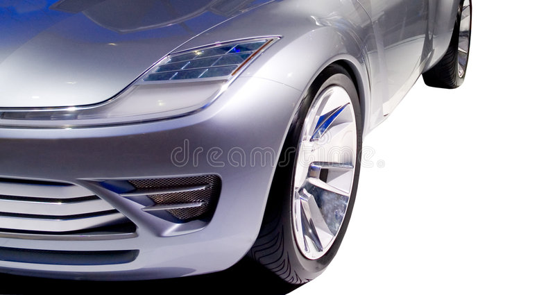Parte frontal futurista 2 do carro foto de stock royalty free