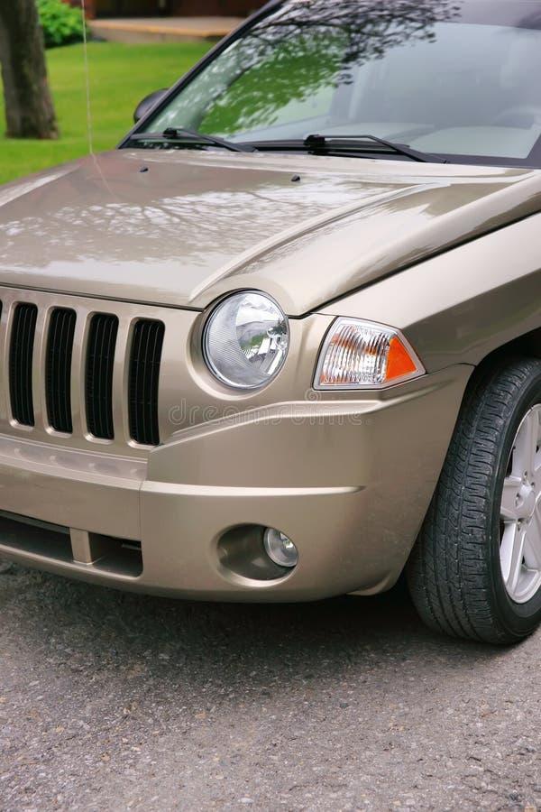 Parte frontale della jeep immagine stock libera da diritti