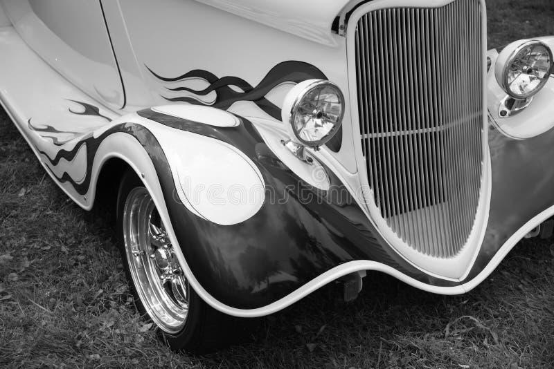 Parte frontale di Hotrod fotografie stock