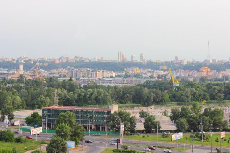 Parte industriale della città fotografie stock libere da diritti
