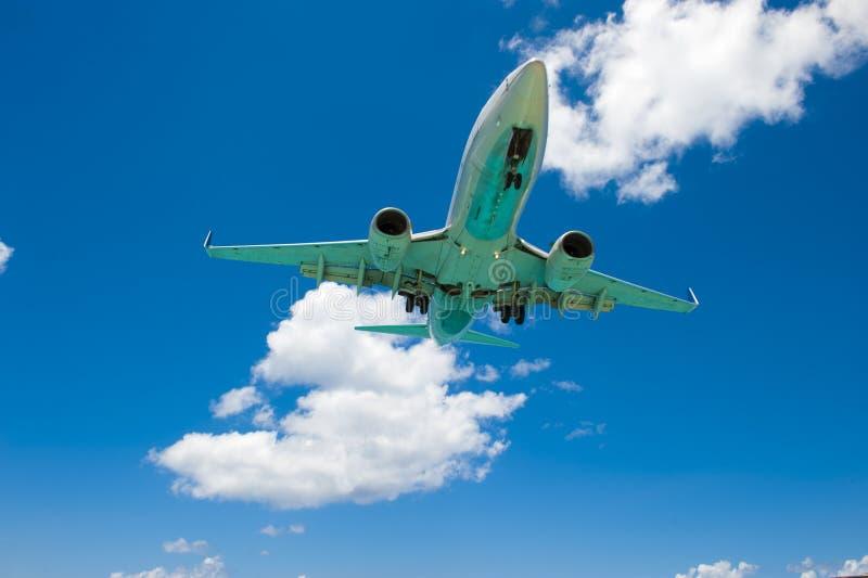 Parte inferior do avião imagem de stock royalty free