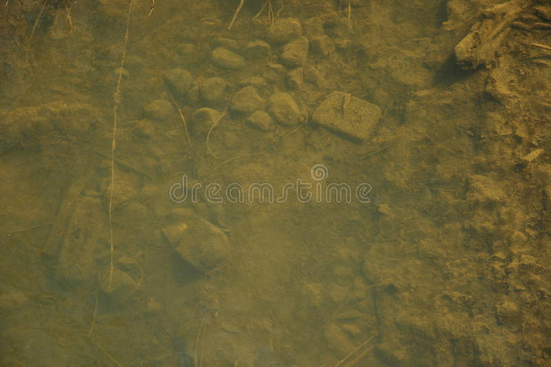 Parte inferior do rio foto de stock royalty free