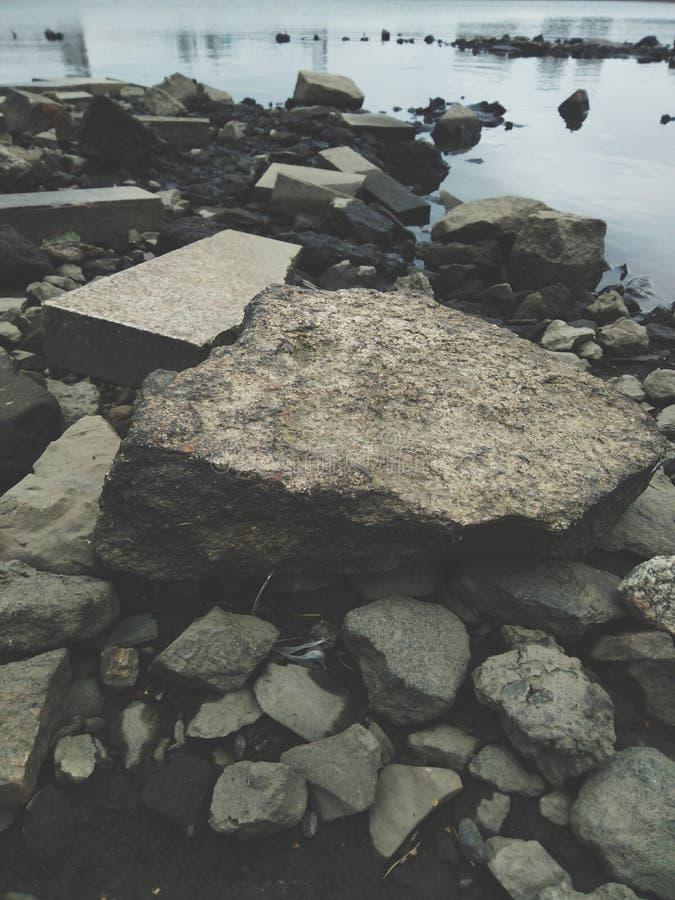 Parte inferiore di fiume immagini stock