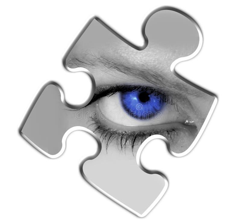 Parte mancante di puzzle illustrazione vettoriale
