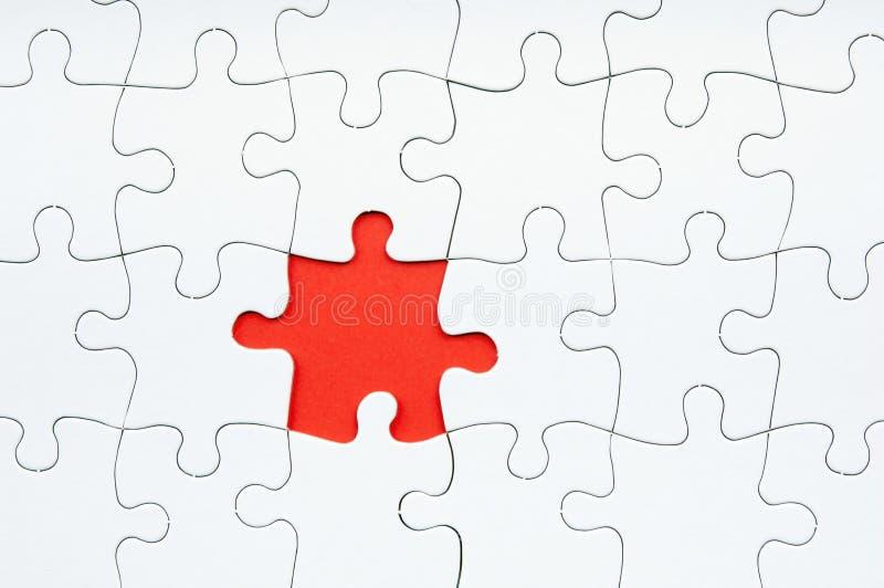 Parte mancante di puzzle del puzzle fotografia stock libera da diritti