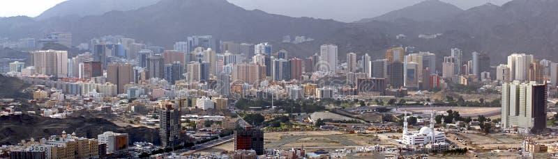 Parte moderna di Mecca Saudi Arabia fotografie stock libere da diritti