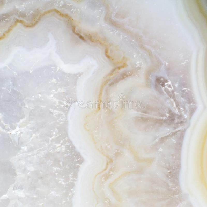 Parte natural de um macro da textura da ágata da dendrite imagens de stock royalty free