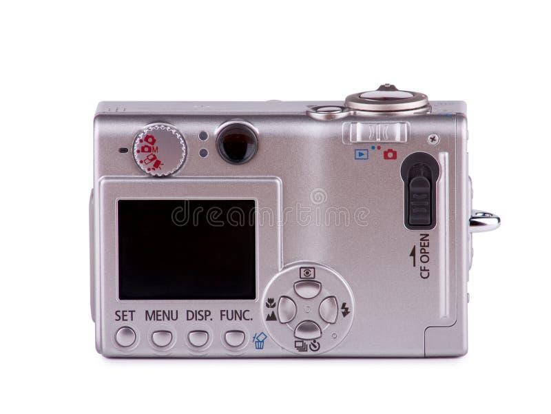 Parte posterior de la cámara fotografía de archivo libre de regalías