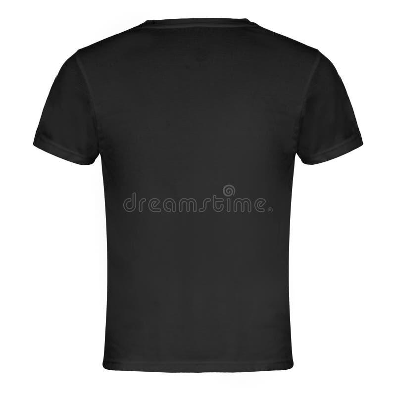Parte posterior de la camiseta de Gray Blank imagen de archivo libre de regalías