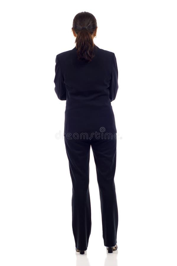 Parte posteriore della donna immagine stock