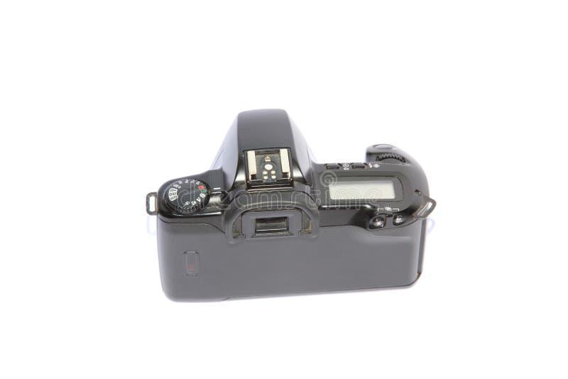 Parte posteriore della macchina fotografica fotografia stock