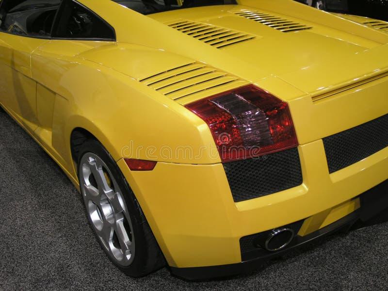 Parte posteriore di lusso 1 dell'automobile sportiva immagini stock libere da diritti