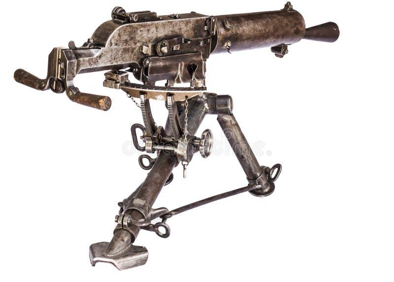 Parte posteriore mitragliatrice immagini stock libere da diritti