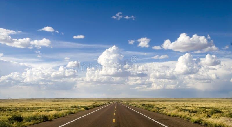 Parte scenica di itinerario 66 immagini stock