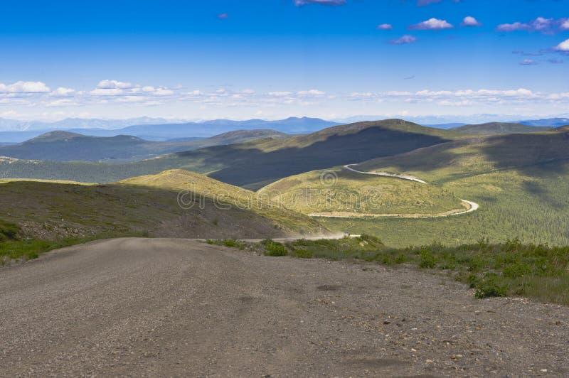 Parte superior da estrada do mundo fotos de stock royalty free