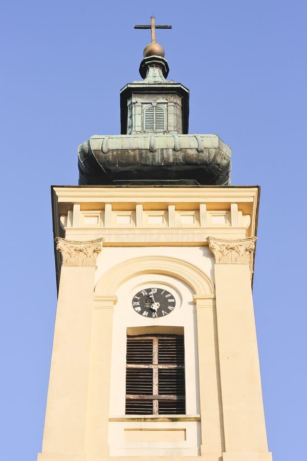 Parte superior da igreja ortodoxa fotos de stock
