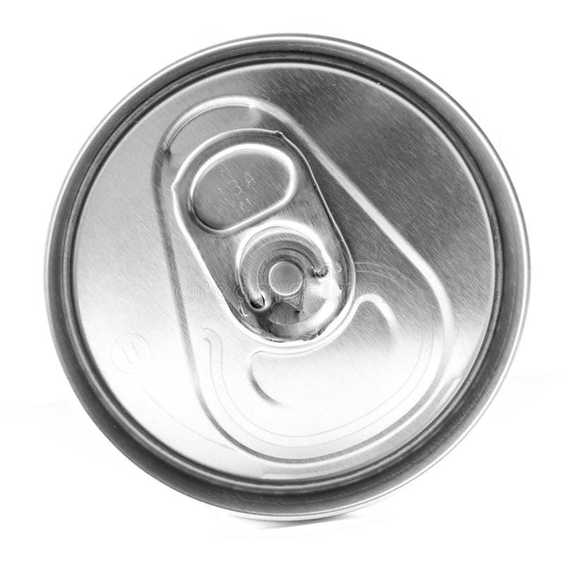 Parte superior da lata de soda foto de stock royalty free