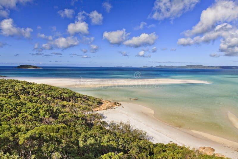 Parte superior da praia dos domingos de Pentecostes de QE foto de stock royalty free