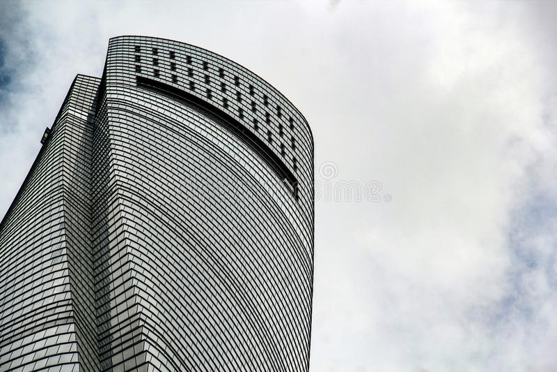 Parte superior da torre de Shanghai foto de stock royalty free