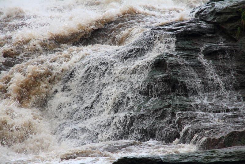 Parte superior de Murchison Falls imagens de stock