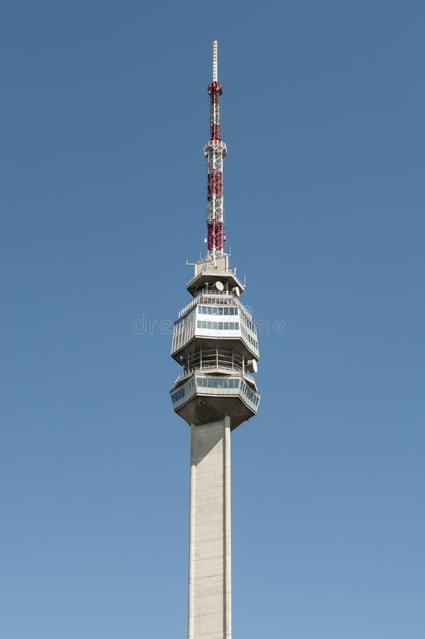 Parte superior de torre em Avala foto de stock royalty free