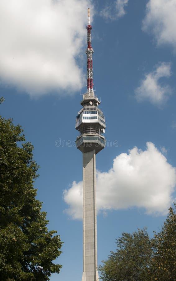 Parte superior de torre em Avala imagem de stock royalty free