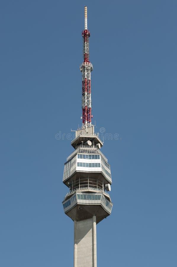Parte superior de torre em Avala fotos de stock royalty free
