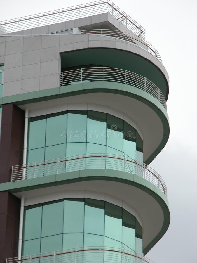 Parte superior de um edifício elevado fotografia de stock