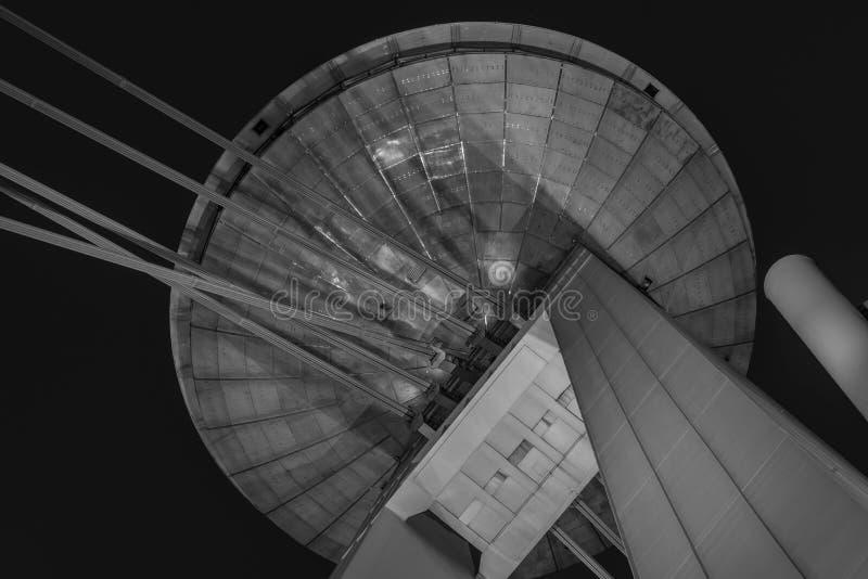 Parte superior del puente del UFO imagen de archivo libre de regalías
