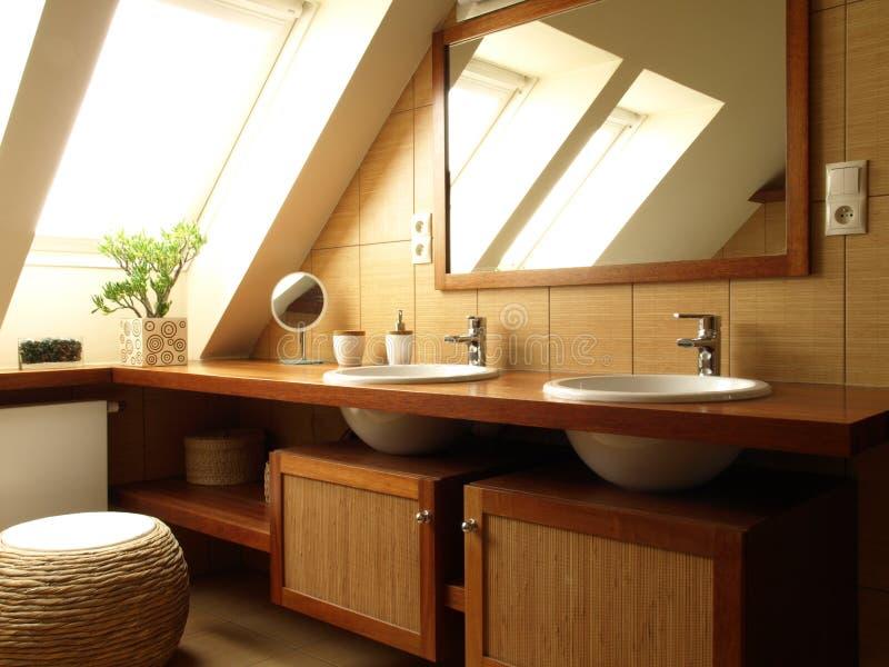 Parte superior do banheiro foto de stock royalty free