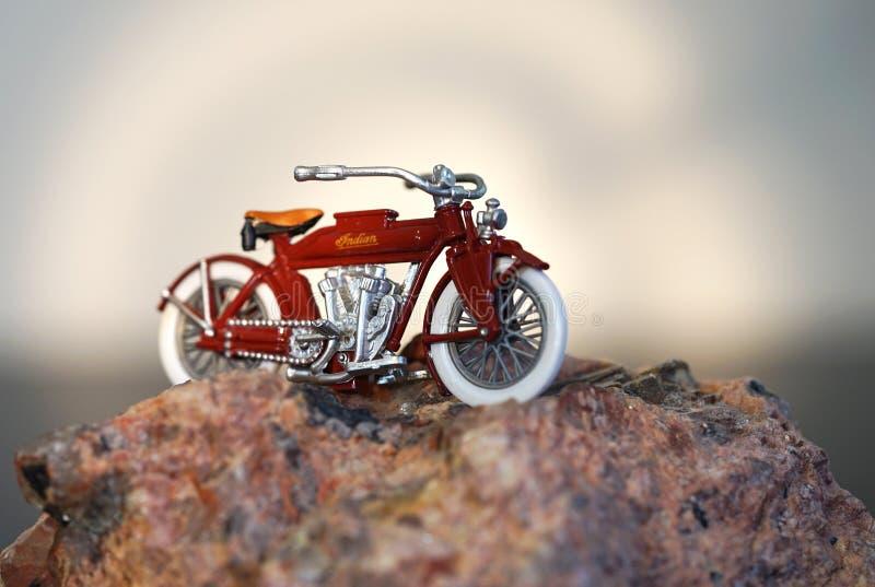 Parte superior do monte - motocicleta indiana fotos de stock royalty free