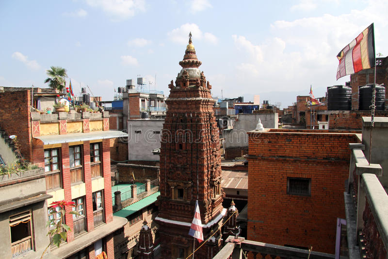 Parte superior do stupa fotos de stock royalty free