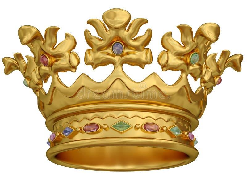 Parte superiore dell'oro illustrazione vettoriale