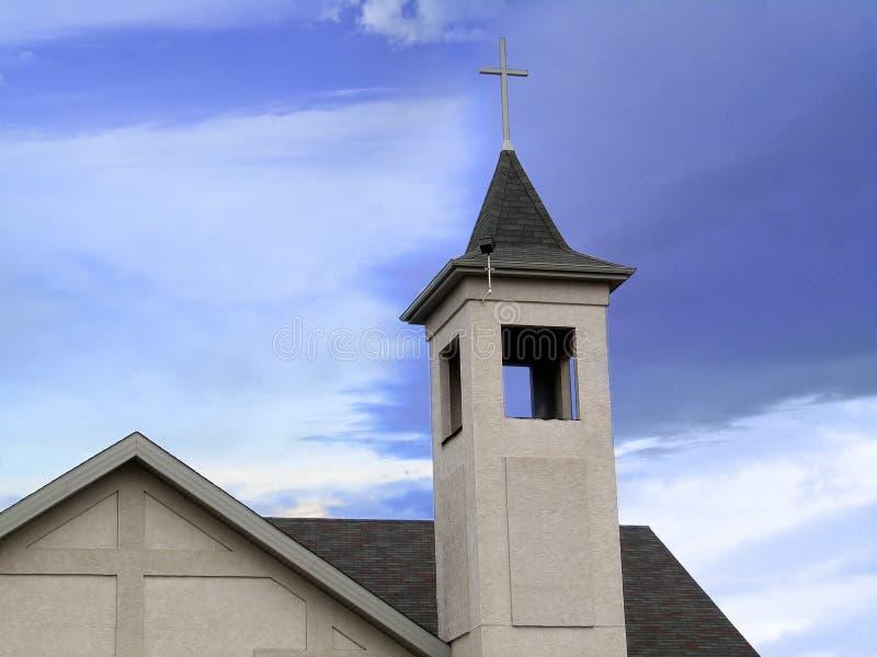 Parte superiore della chiesa fotografie stock libere da diritti