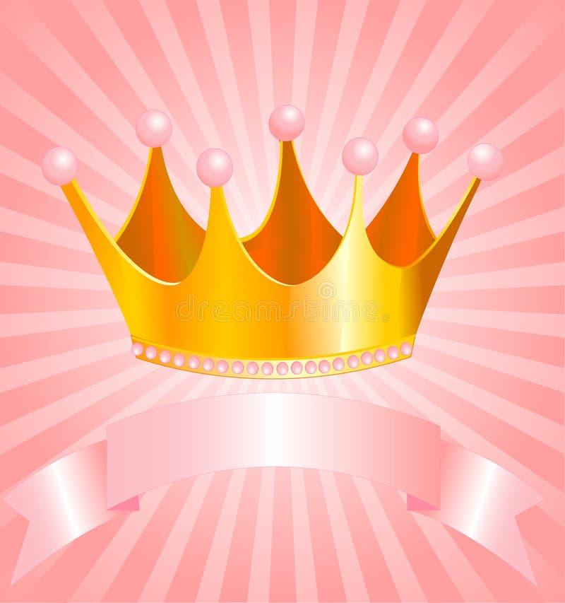 Parte superiore della principessa royalty illustrazione gratis