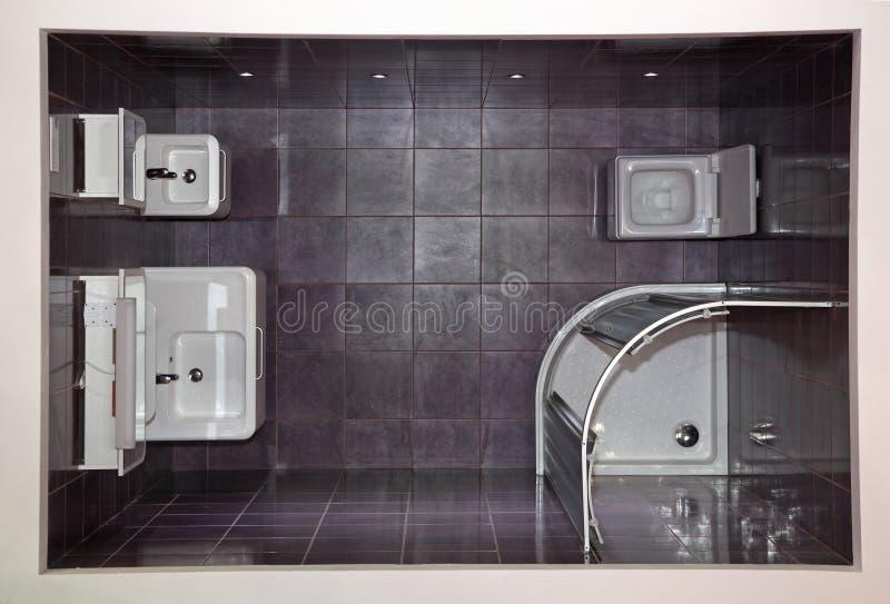 Parte superiore della stanza da bagno fotografie stock libere da diritti
