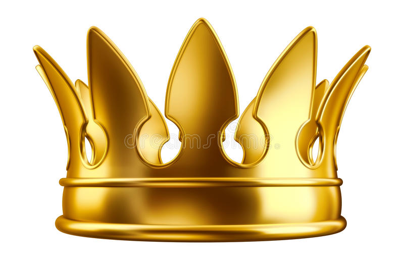Parte superiore dorata royalty illustrazione gratis