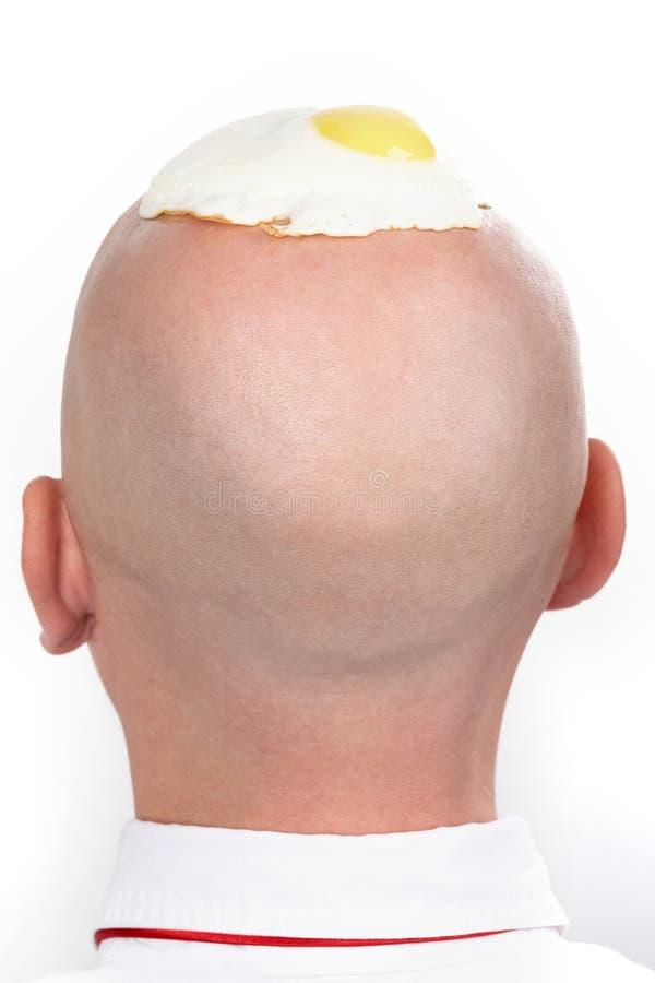 Parte traseira de cabeça imagens de stock royalty free