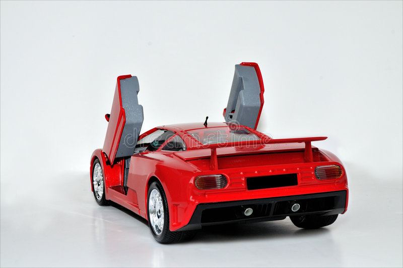Parte traseira de Lamborghini imagens de stock