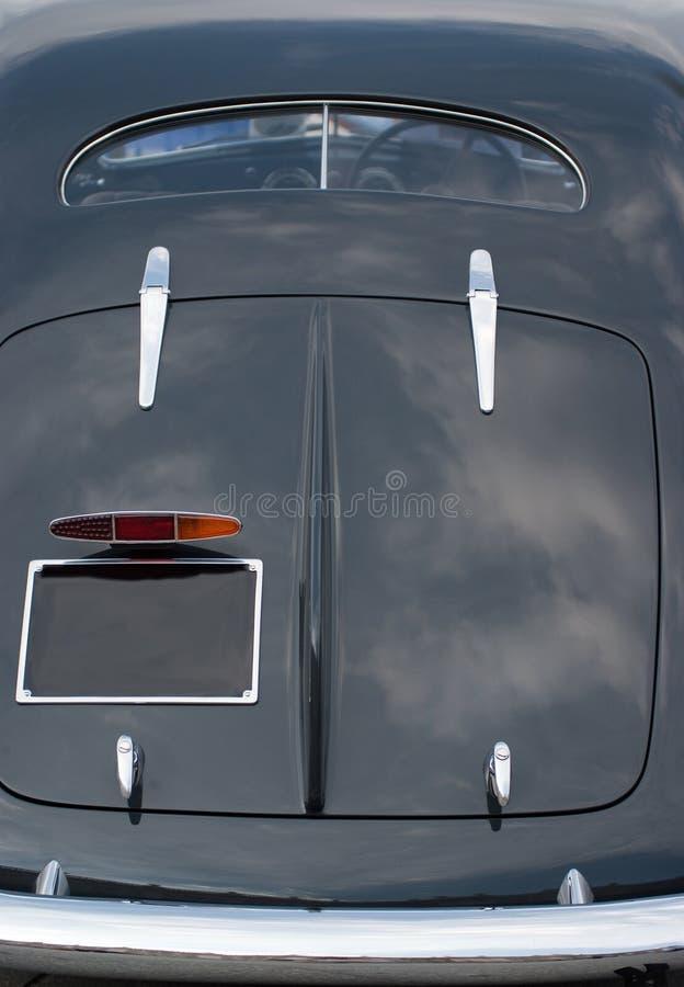 Parte traseira do carro do vintage imagem de stock royalty free