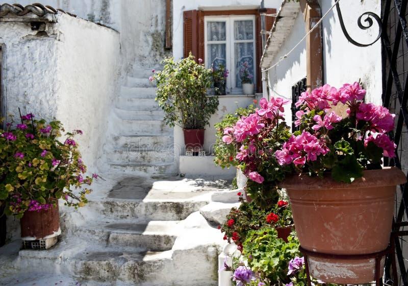 Parte velha de Atenas, Grécia fotos de stock