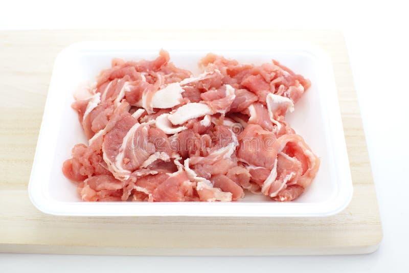 Download Carne de porco Uncooked imagem de stock. Imagem de alimento - 29846755