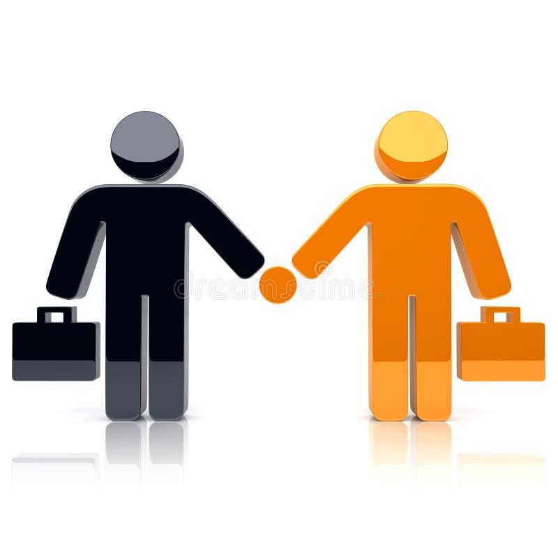 Partenariat illustration de vecteur