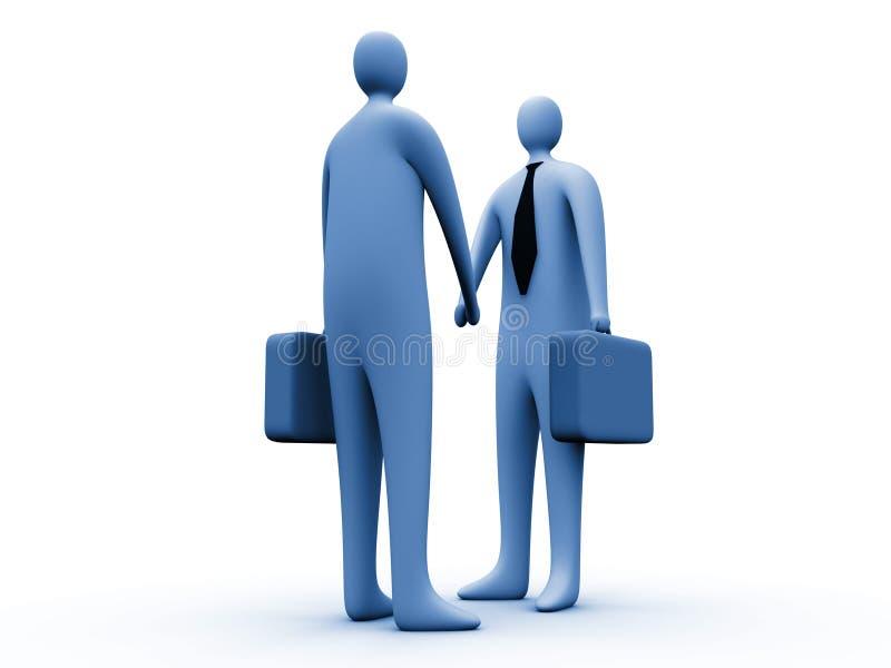 Partenariat #2 illustration de vecteur